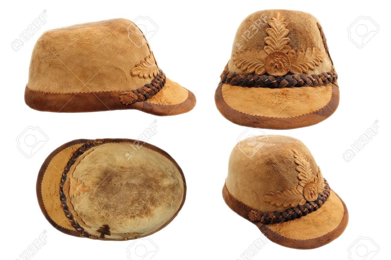 Stok Fotoğraf - traditional transylvanian hunting hat 0a3d8a83d0b9