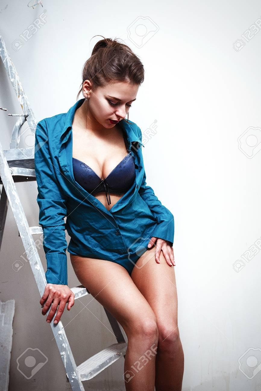 Nice legs pretty boobs