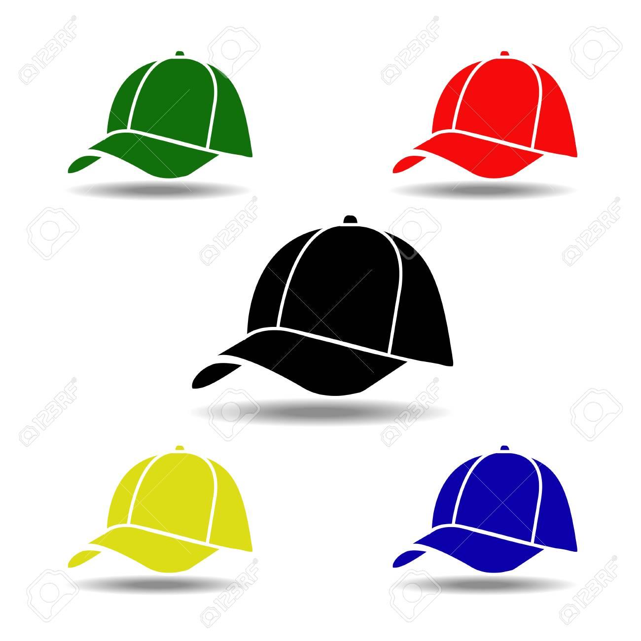 2ce2b492869 baseball cap Stock Vector - 35233779