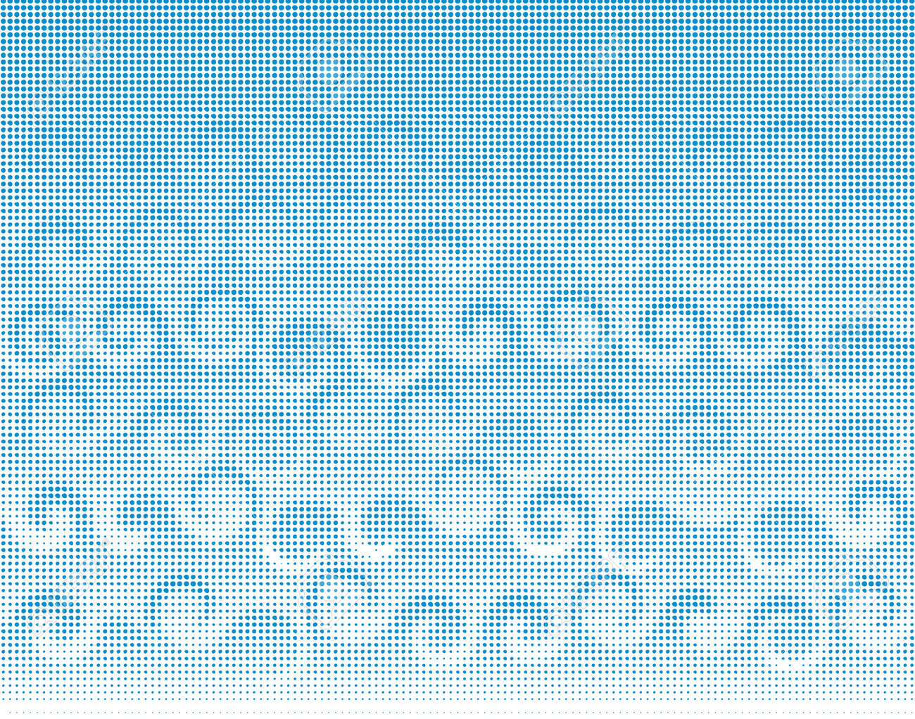 Abstract Vector Halftone Background Of Ocean Waves