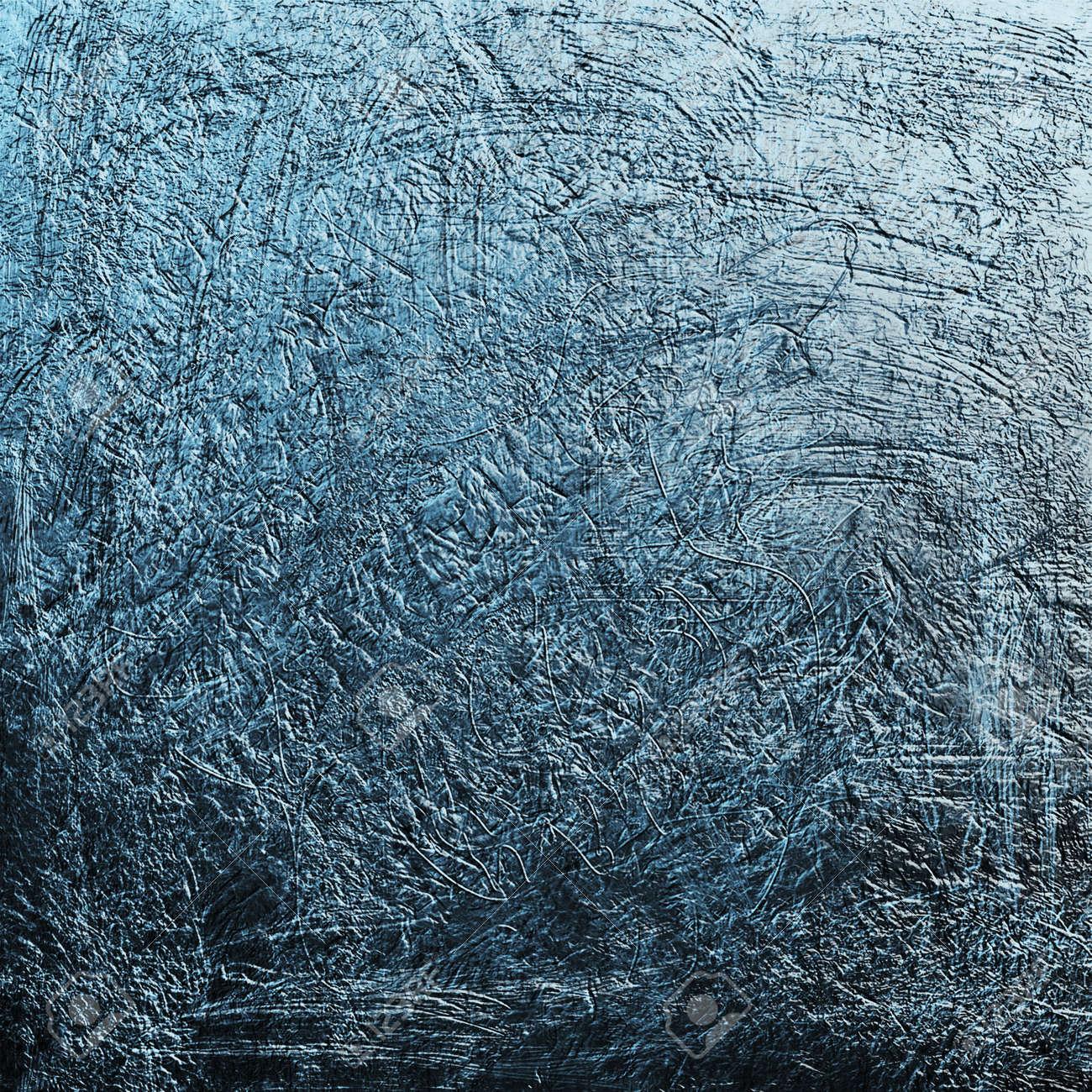 Blue grunge background texture created in Photoshop
