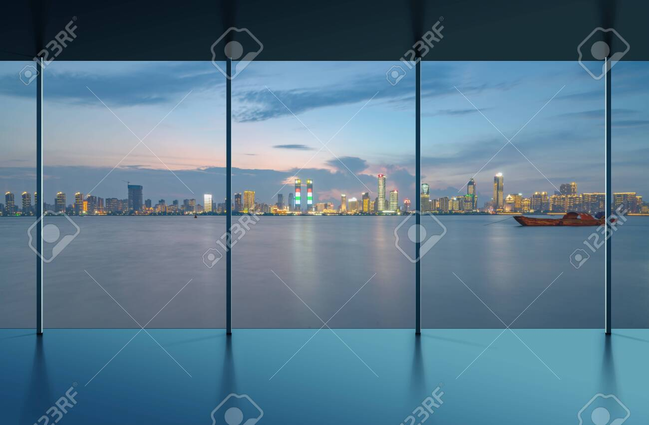 Manhattan office city view - 135183511