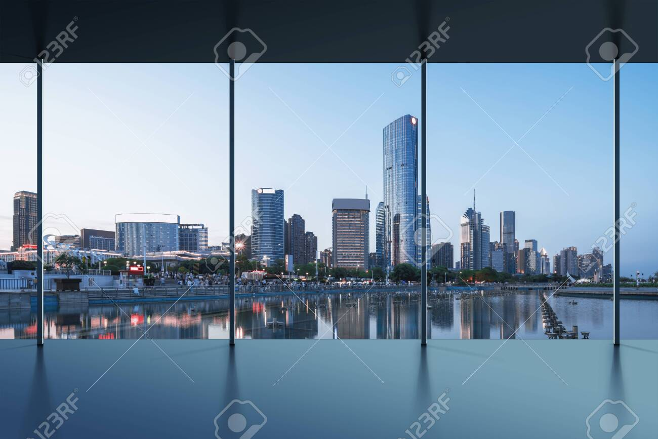Manhattan office city view - 135183508