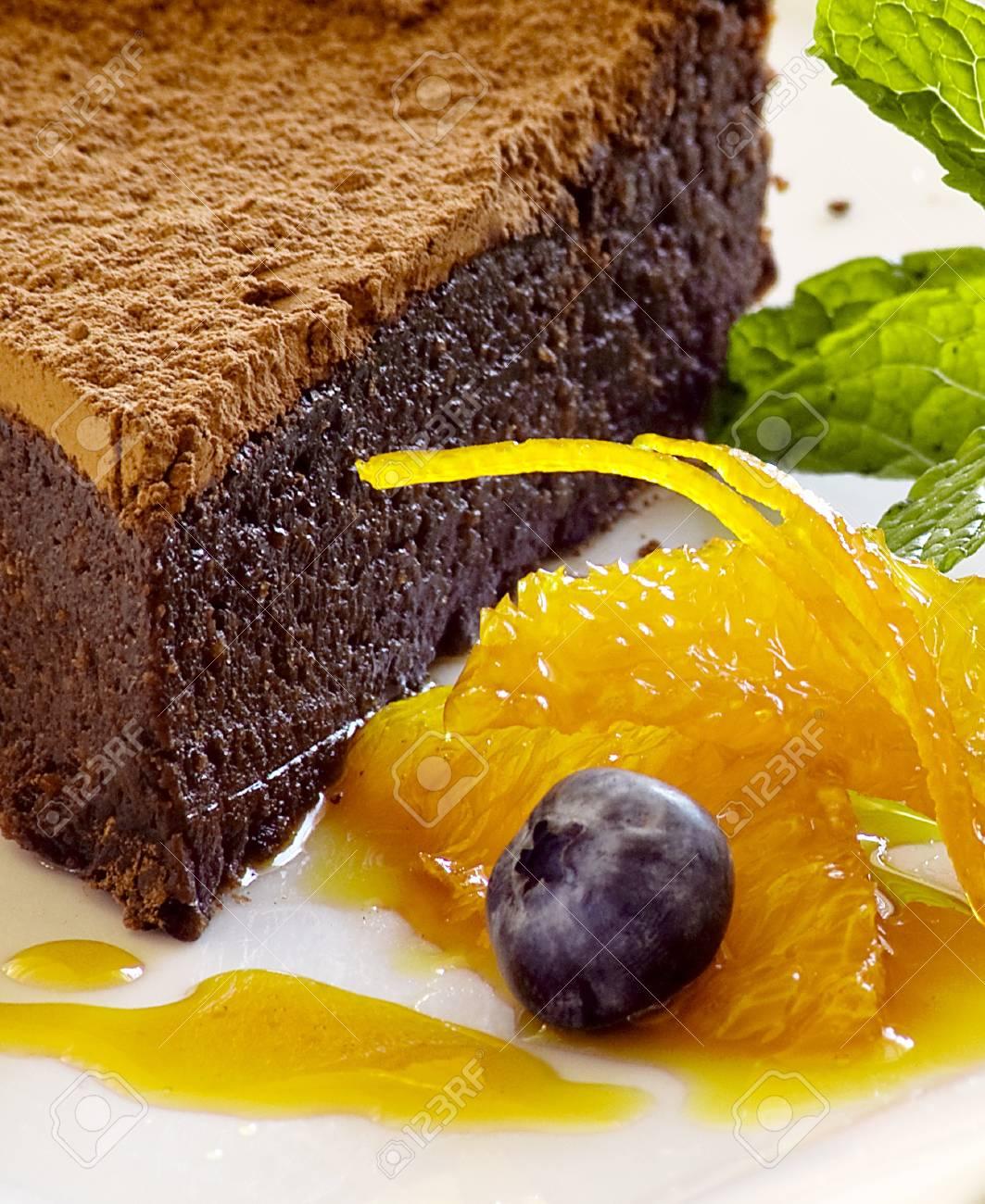 Chocolte hazelnut cake Stock Photo - 8278827