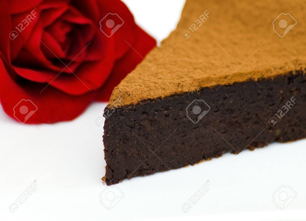 Chocolte hazelnut cake Stock Photo - 8278832
