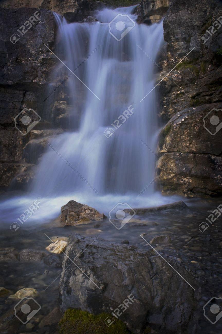 Tangle Falls Alberta Stock Photo - 8287654