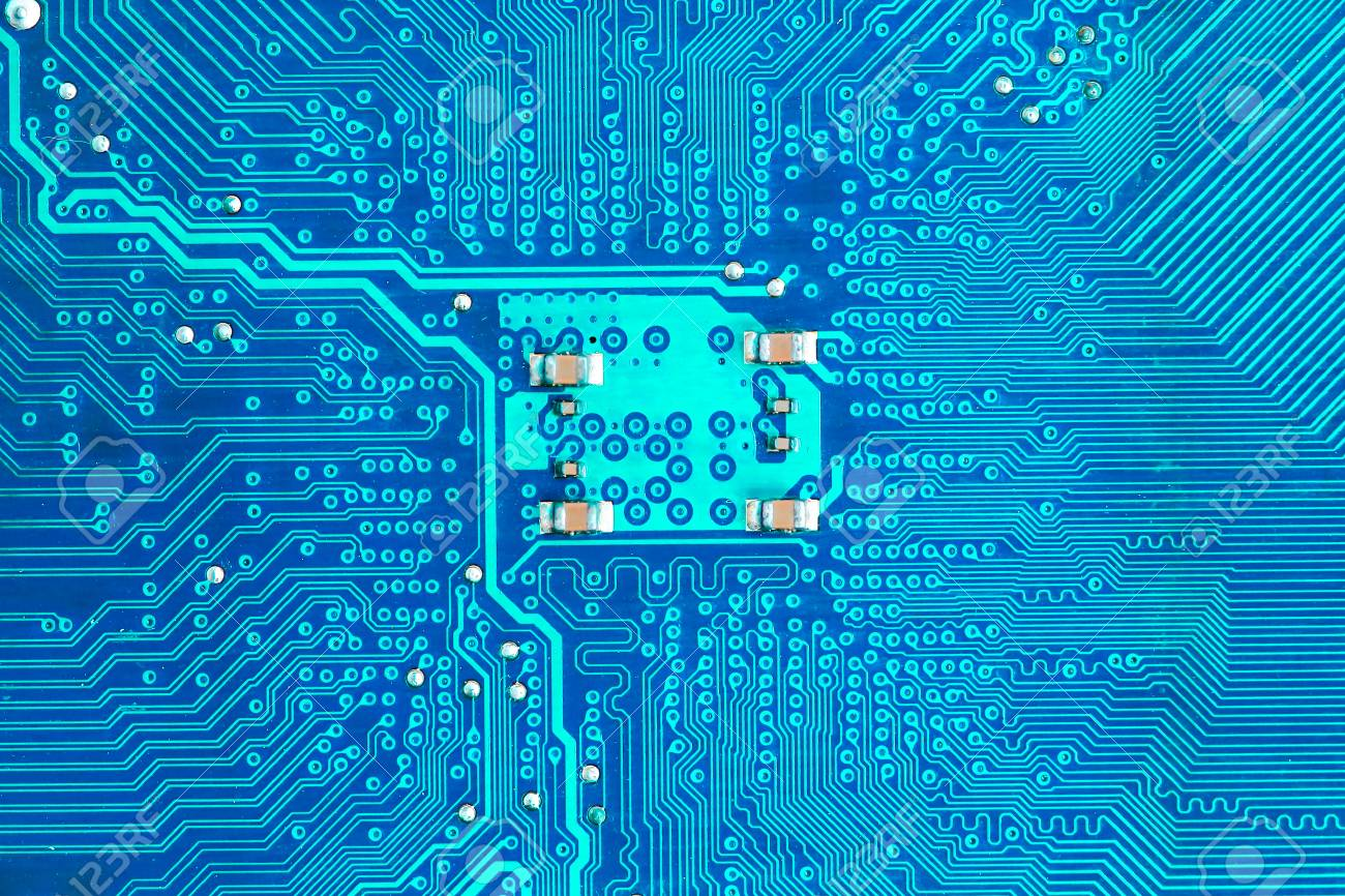 Closeup Electronic Circuit Board Background Stock Photo Picture And Royalty Free Image Image 61582630