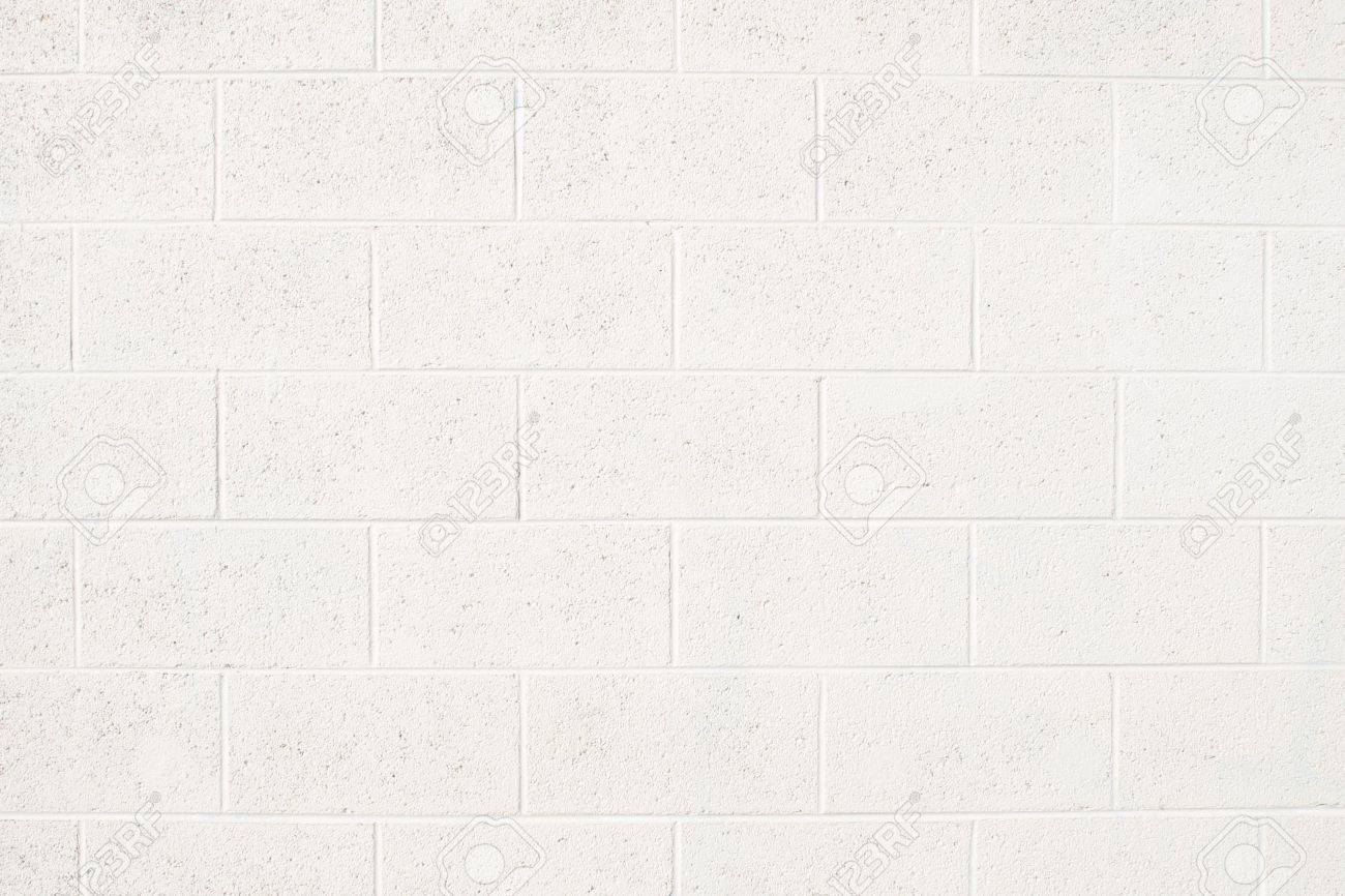 Painted cinder block wall texture - Cinderblock Wall Painted Off White Stock Photo 27431108