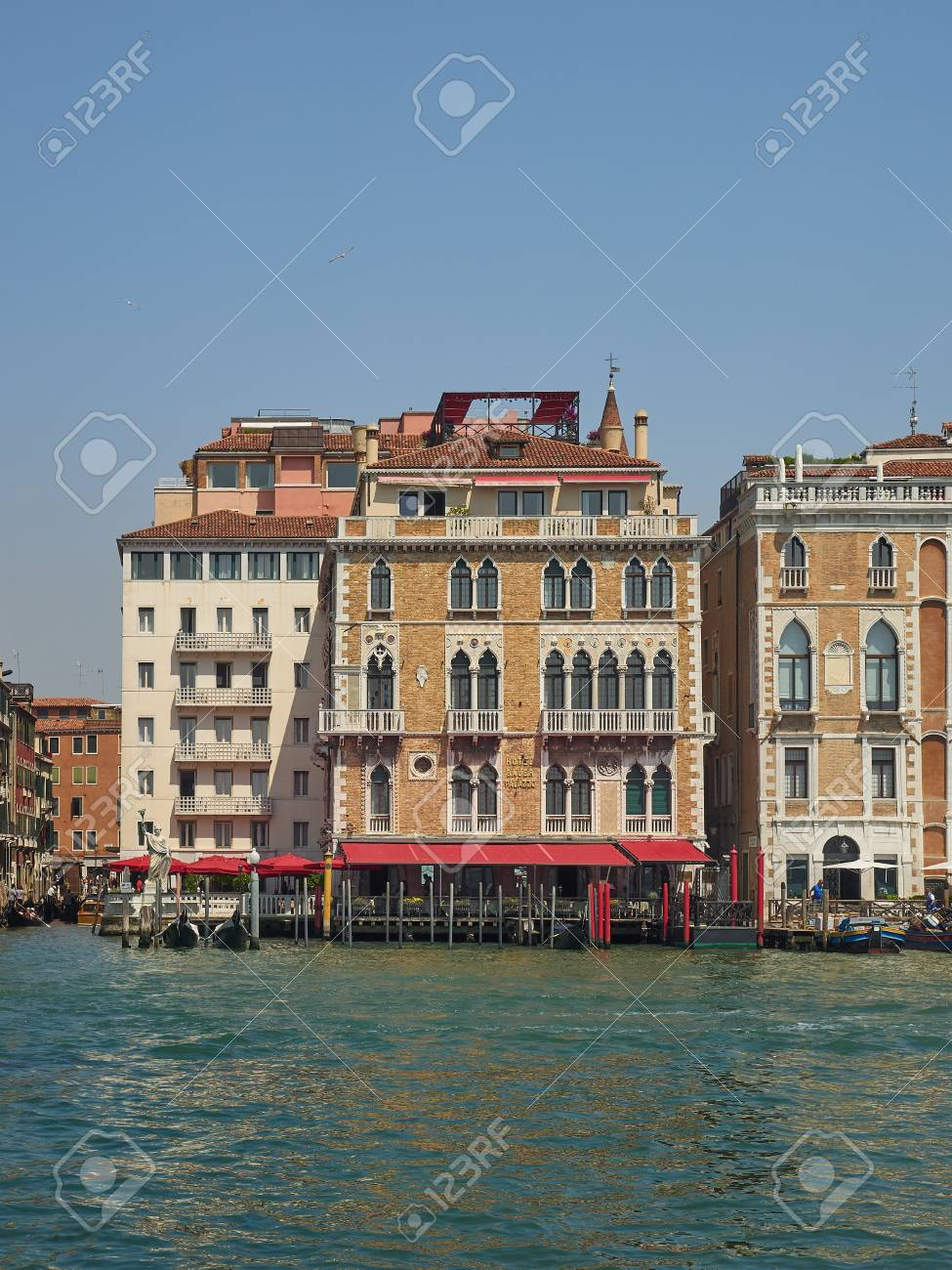 Exterior Of The 5 Star Luxury Bauer Palazzo Hotel San Marco