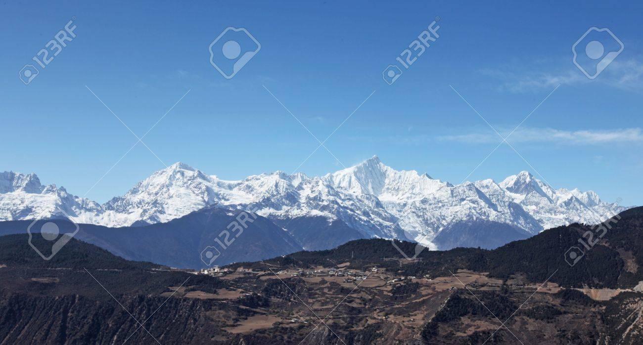 Meili snow mountain Stock Photo - 16981260
