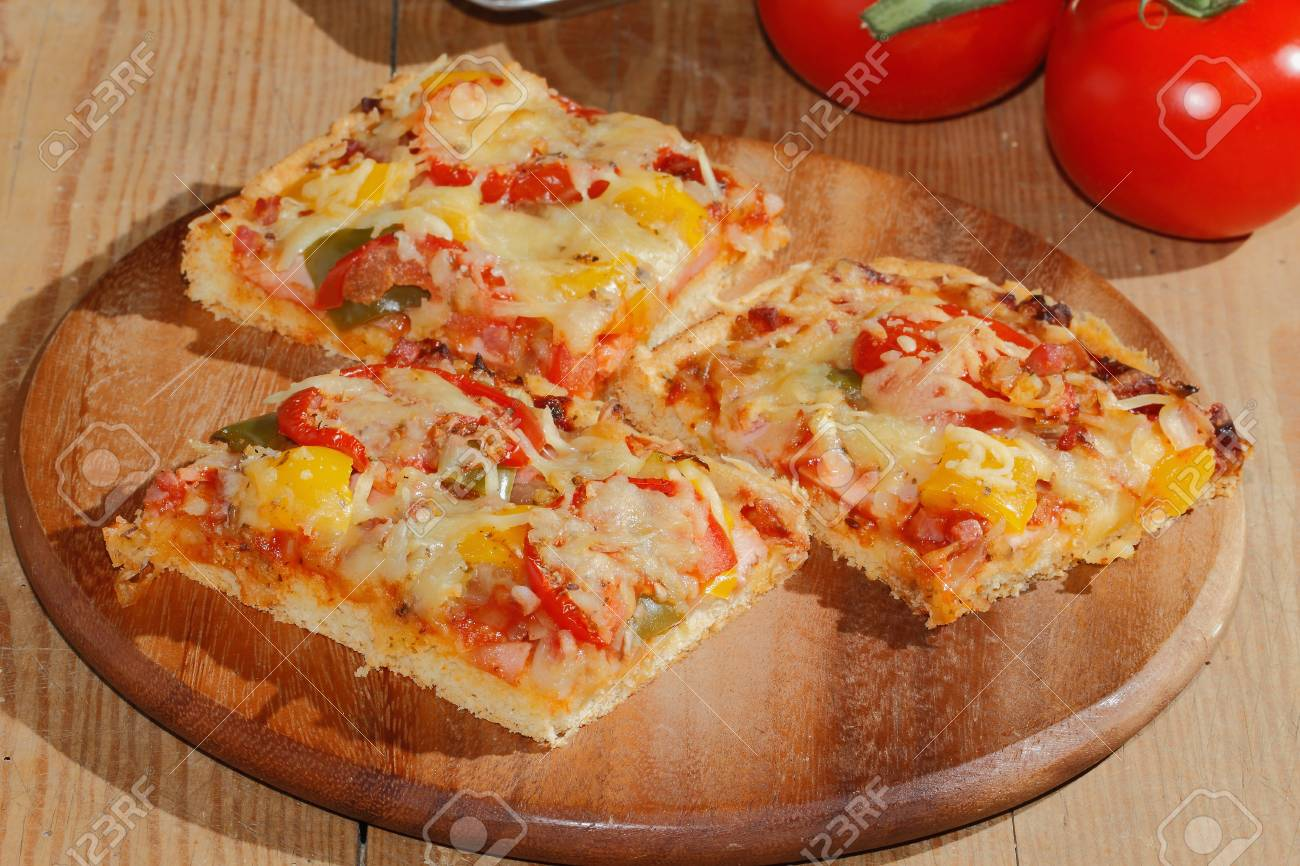 poivrons tomates et oignons au fromage