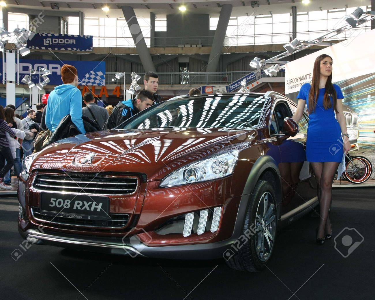 51st Belgrade International Car Show March 2013 Peugeot 508 Rxh Stock Photo Picture And Royalty Free Image Image 19169952