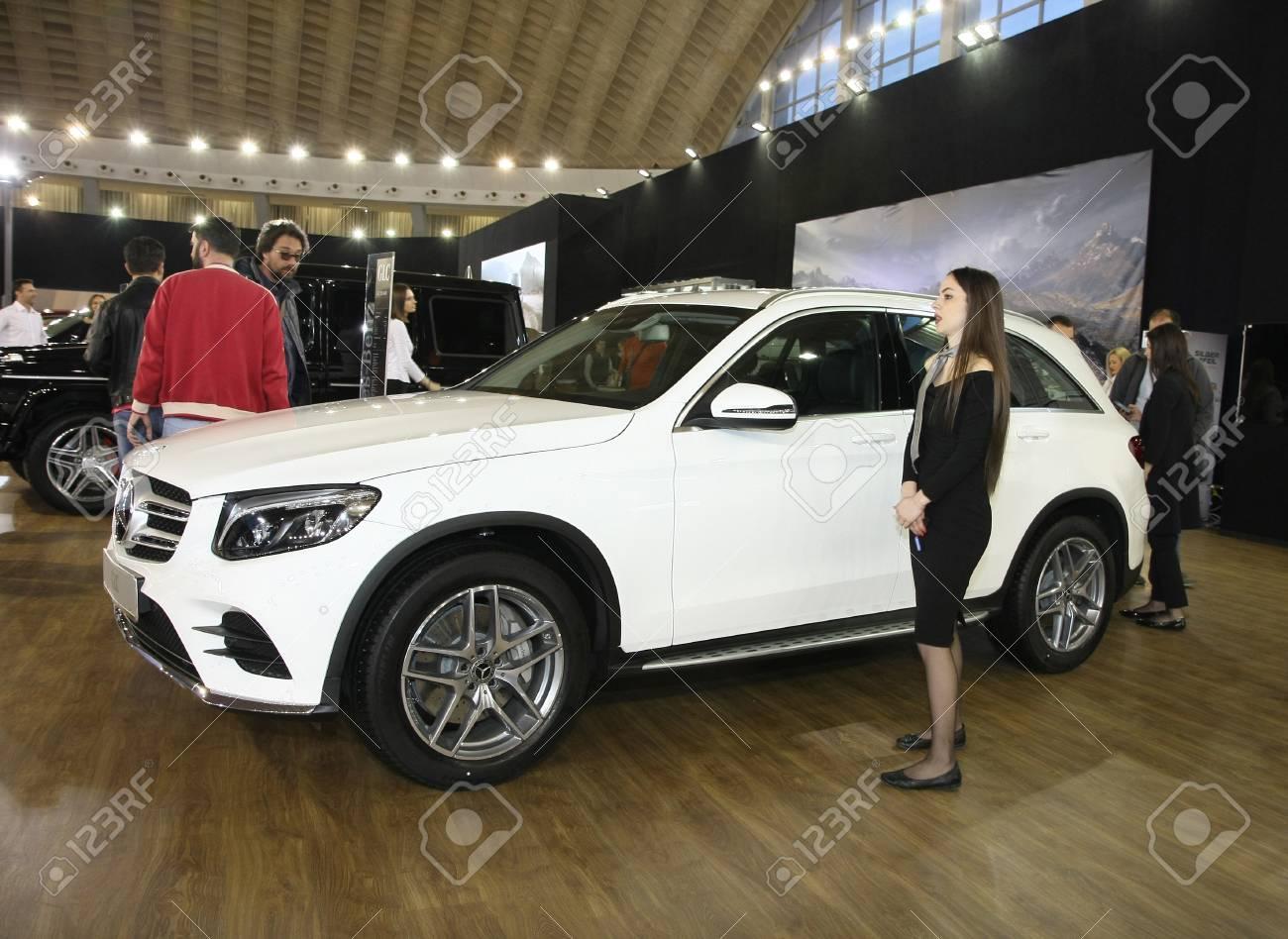 Belgrade Serbia March 29 2017 Mercedes Glc 220 D 4m At 53th