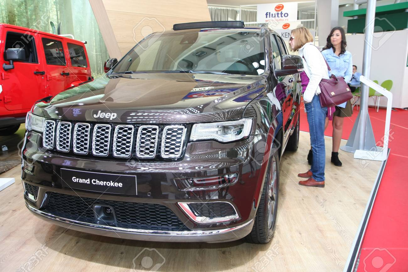BELGRADESERBIAMARCH Jeep Grand Cherokee Summit - Summit car show