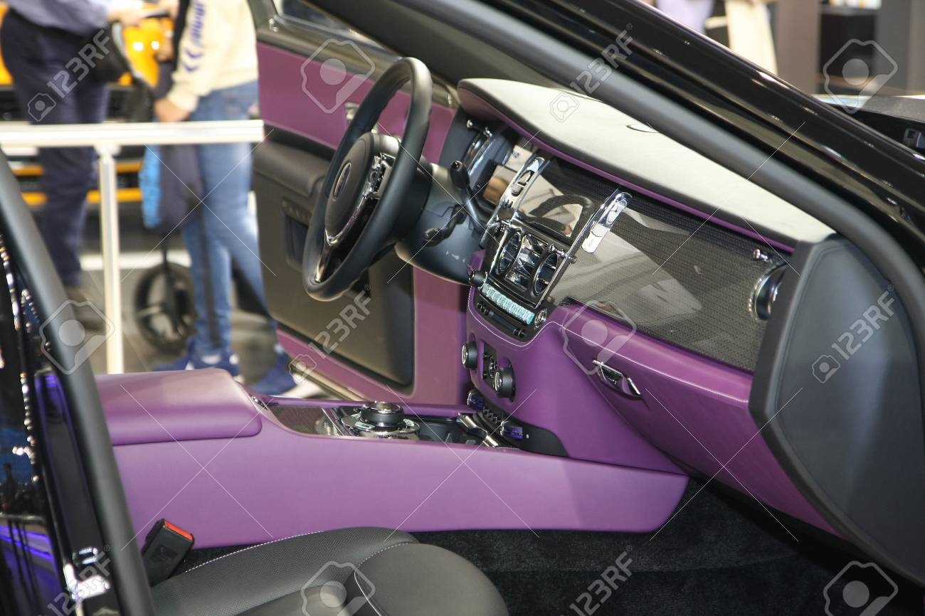 Belgrade Serbia March 29 2017 Interior Of Rolls Royce Ghost Stock Photo Picture And Royalty Free Image Image 76028122