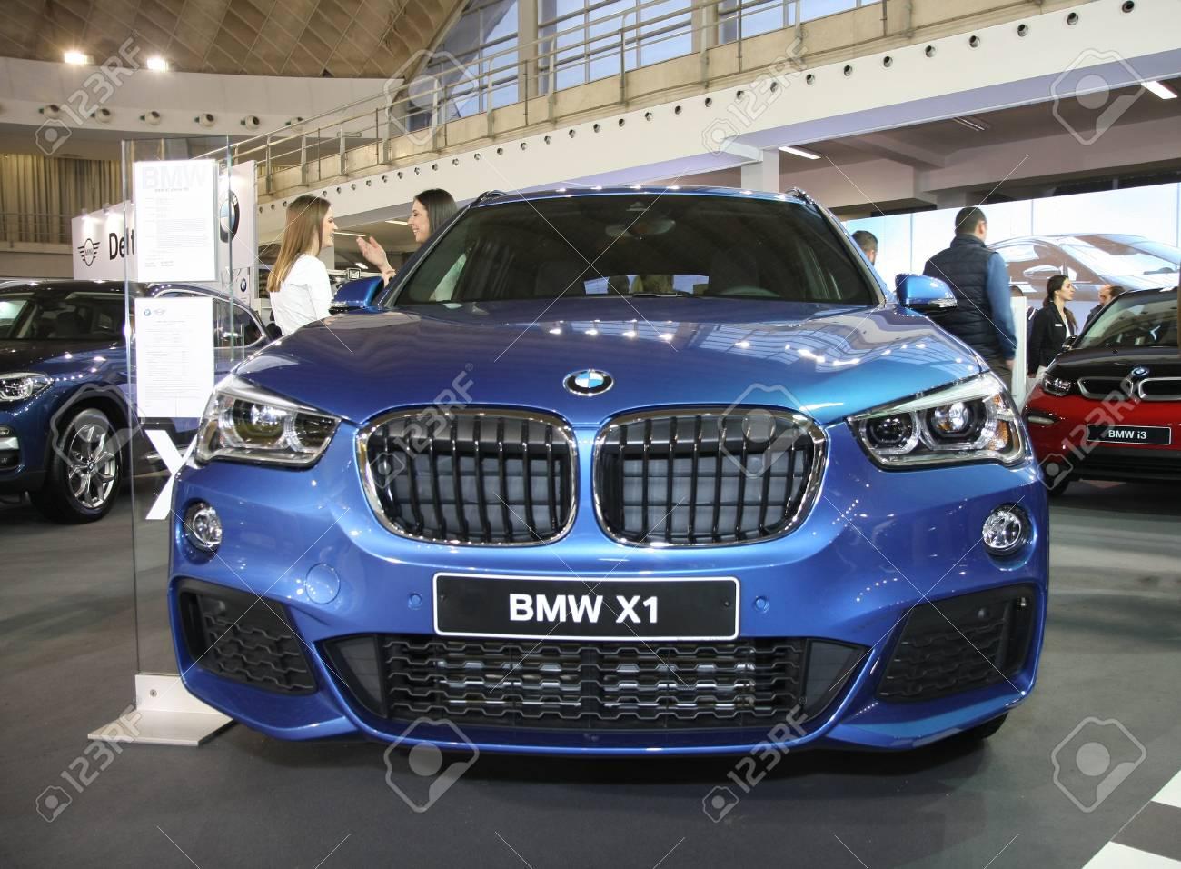 Belgrade Serbia March 27 2018 Bmw X1 Sdrive 18d At Ddor Bg Stock