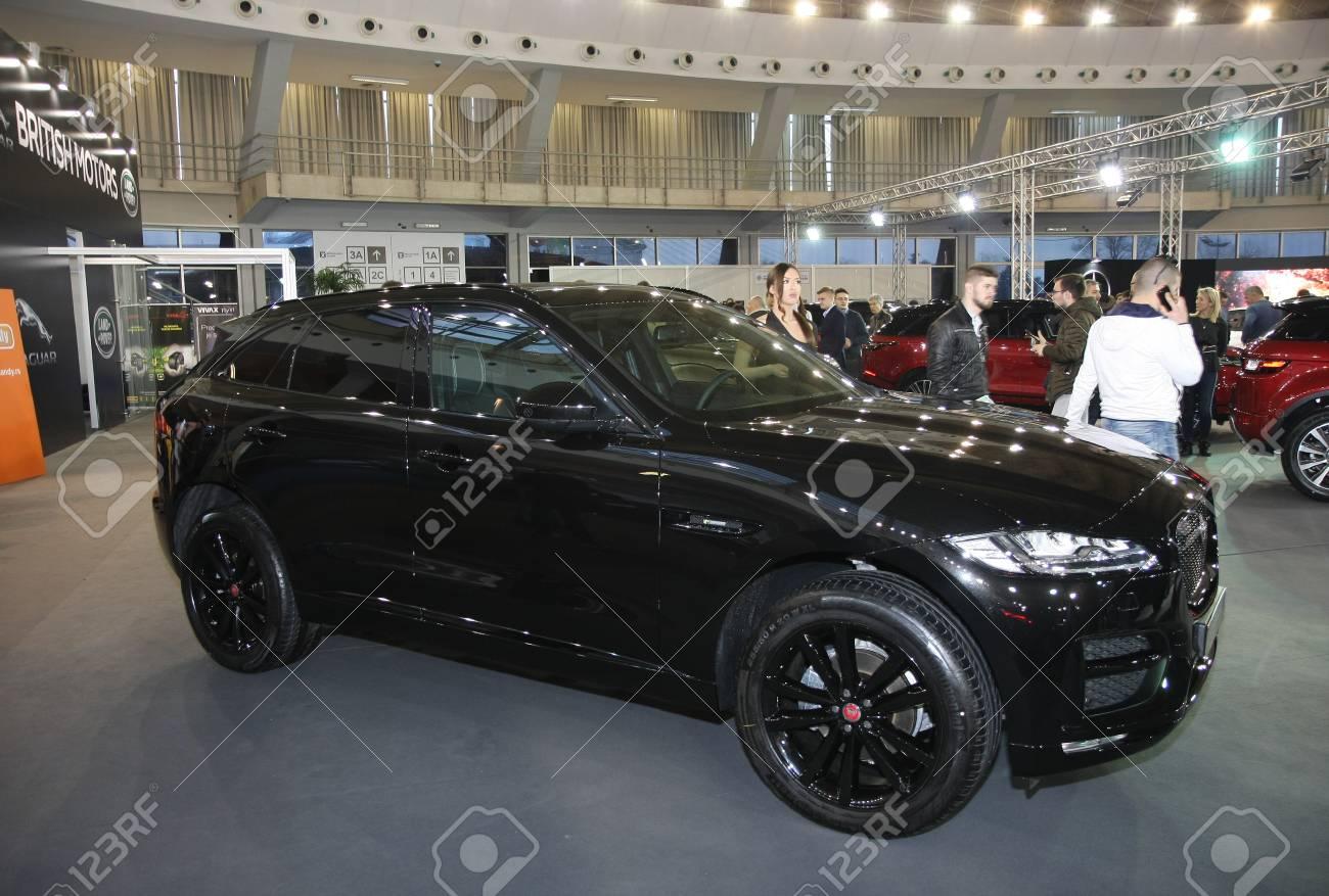 Jaguar F Pace Black