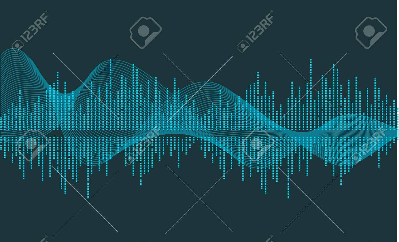 vector music wave Stock Vector - 2106348