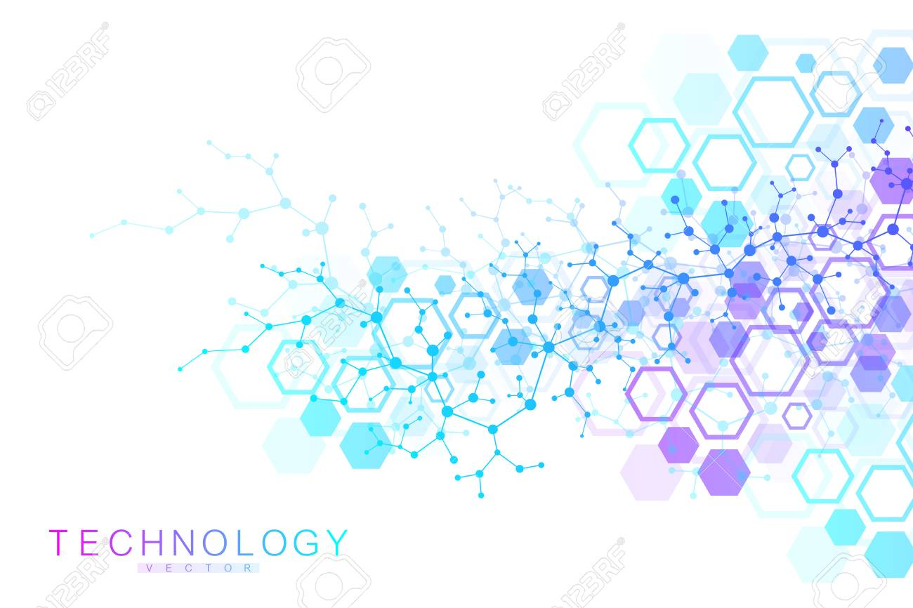 Scientific Molecule Background For Medicine Science Technology Royalty Free Cliparts Vectors And Stock Illustration Image 99717178