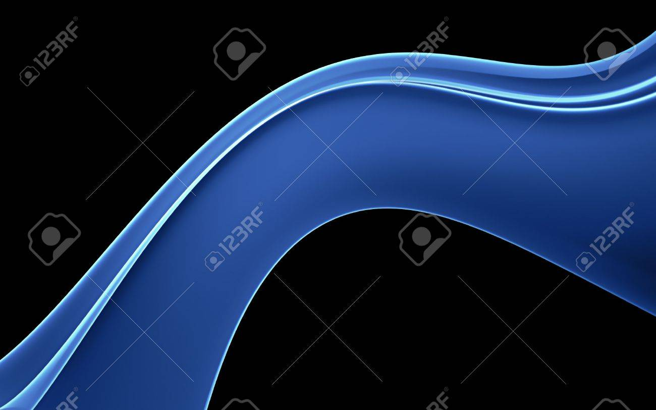 Flowing Plasma Wave Background Stock Photo - 6050348