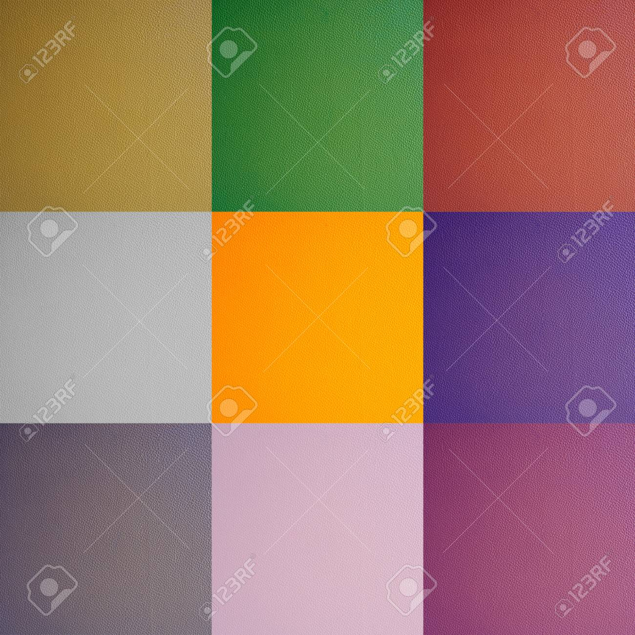 multicolor leather texture Stock Photo - 11013318