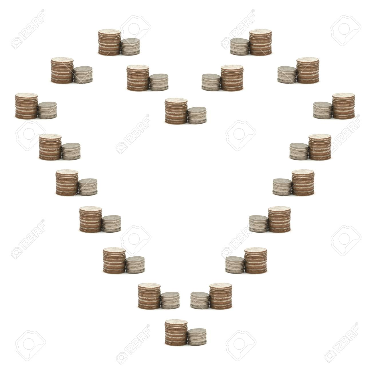 Increase your savings with heart Stock Photo - 11013323