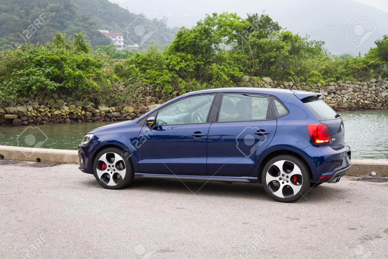 Volkswagen Polo Gti 2013 Model With Blue Colour Stock Photo Picture And Royalty Free Image Image 26910159