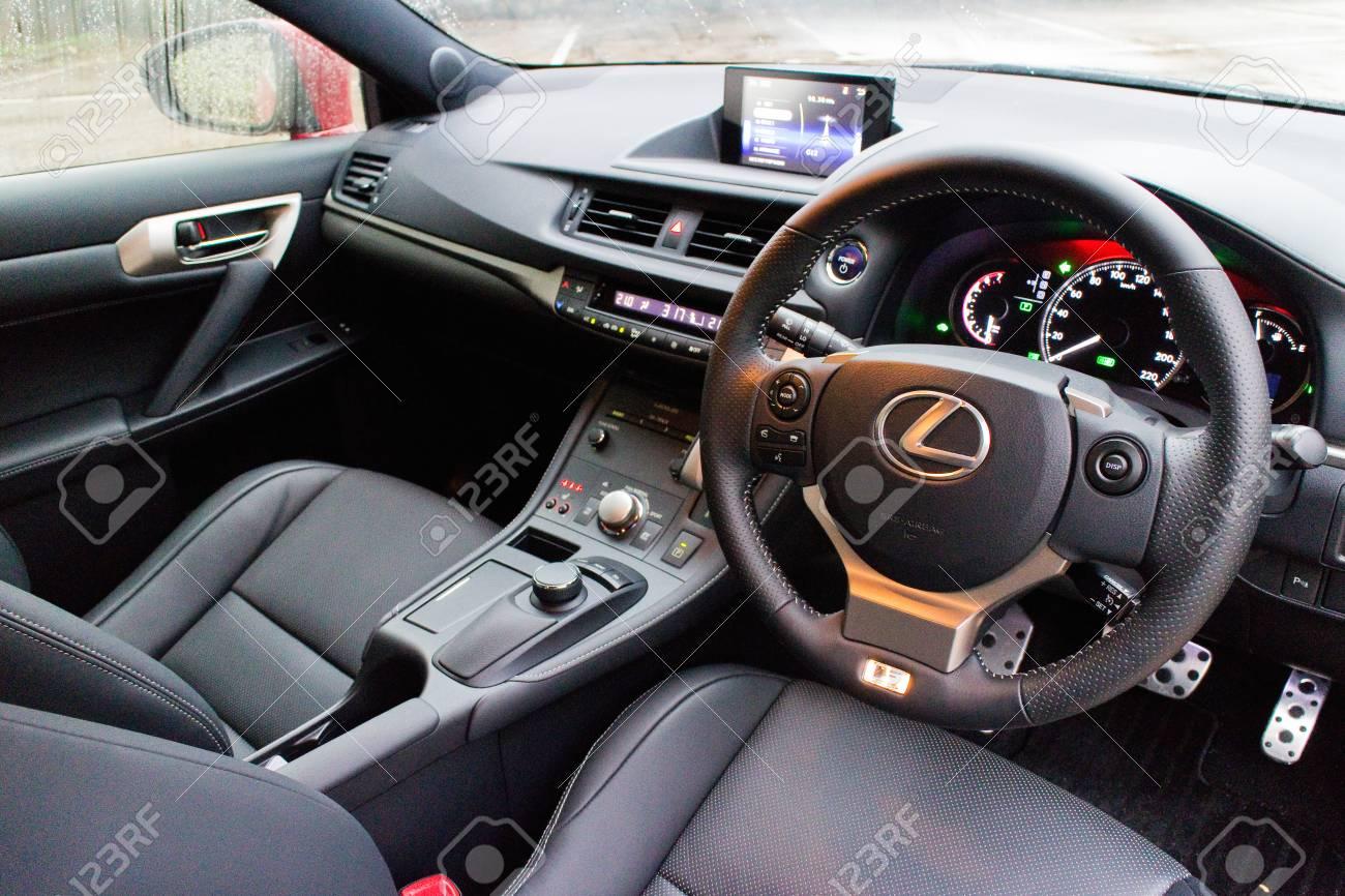 Lexus Ct F Sport >> Hong Kong China May 15 2014 Lexus Ct200h F Sport Interior