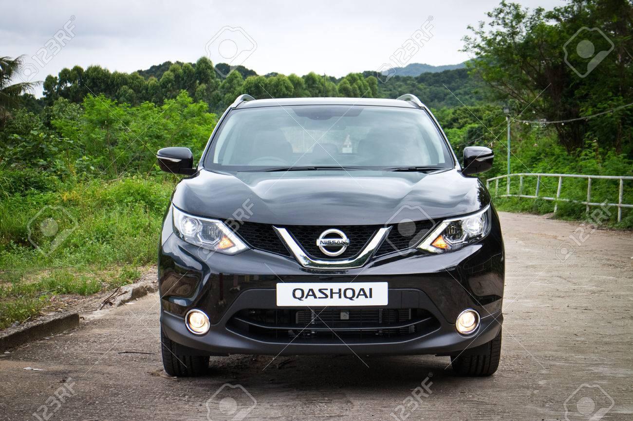 Nissan Qashqai Test >> Hong Kong China June 5 2014 Nissan Qashqai Test Drive On