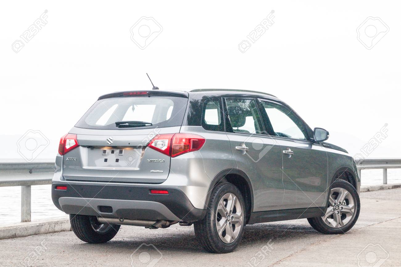 Hong Kong China Feb 23 2016 Suzuki Vitara 2016 Test Drive
