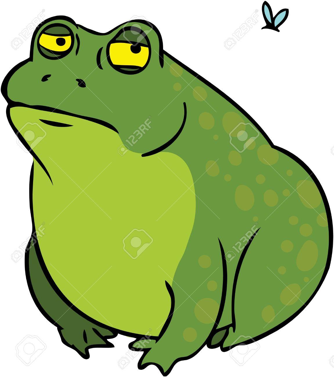 10883645-Grumpy-frog-cartoon-character-l