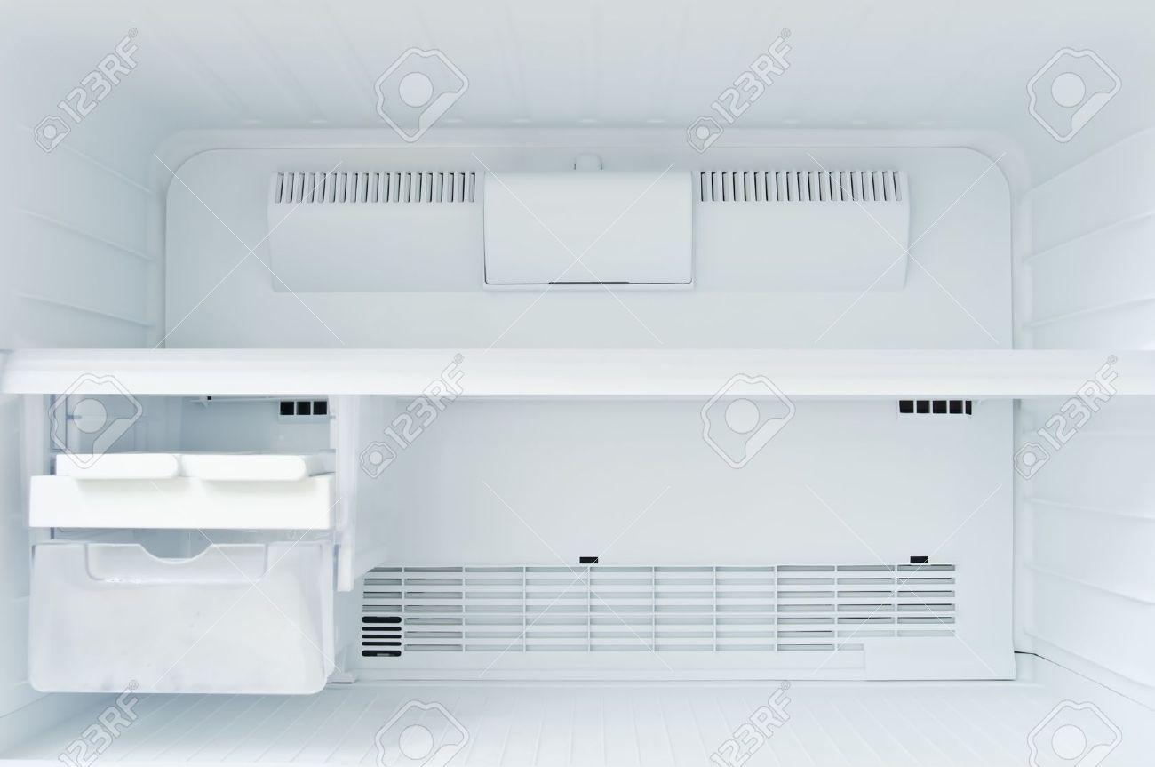 An empty freezer of a refrigerator Stock Photo - 8142269