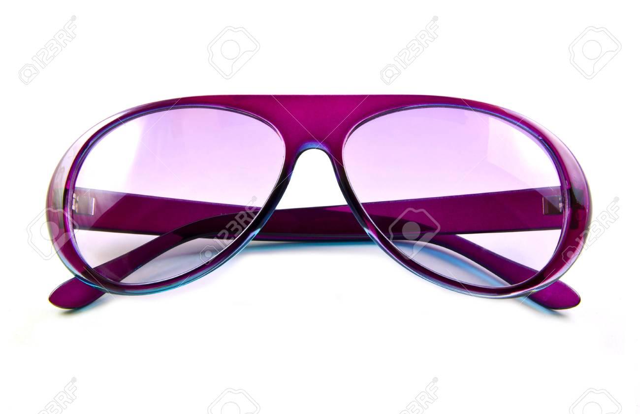 qualité supérieure vente à bas prix plus grand choix de 2019 Lunettes de soleil rose isolé sur fond blanc