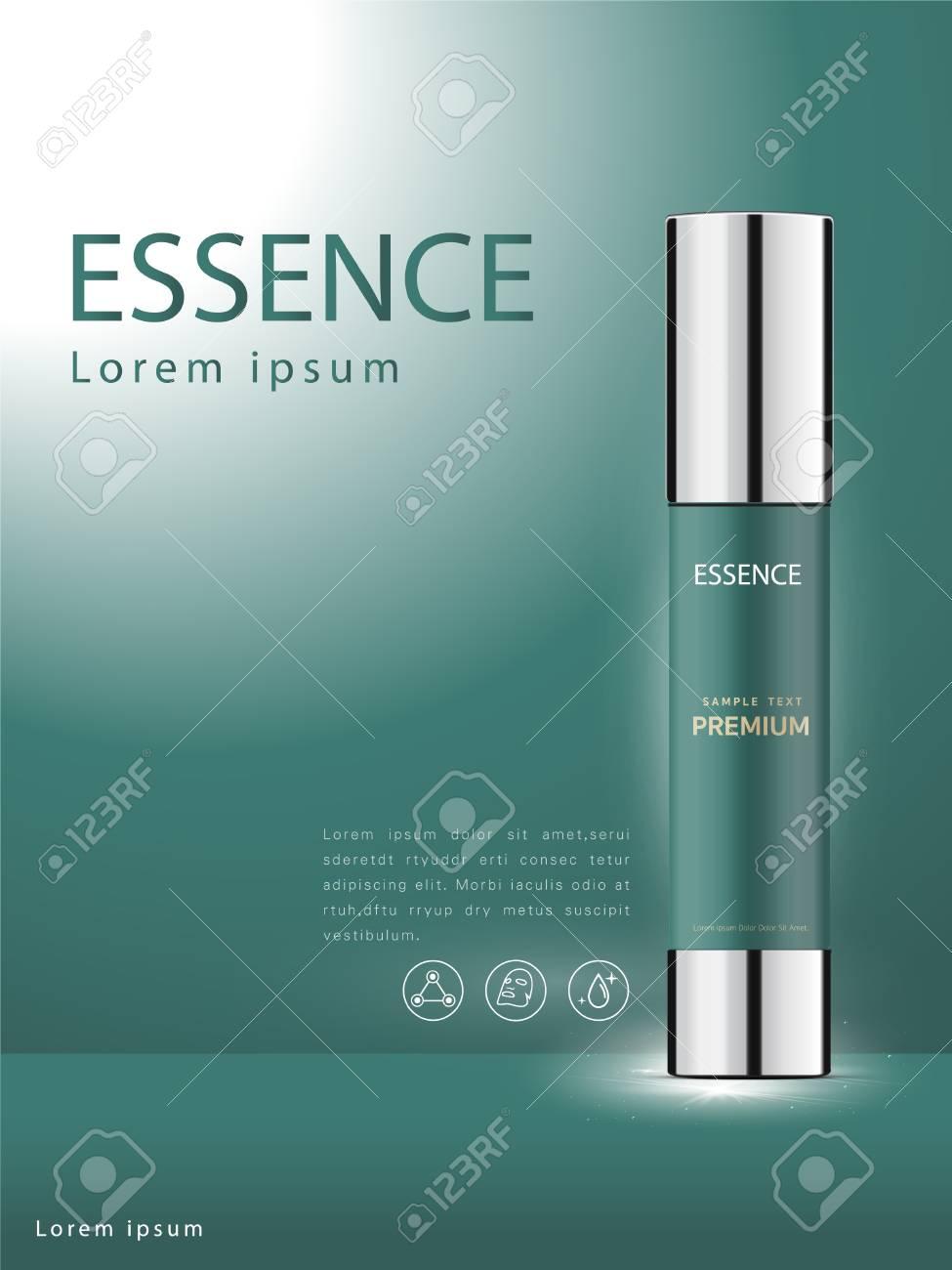 Facial Treatment Essence Skin Care Cosmetic beautiful vector - 109626480