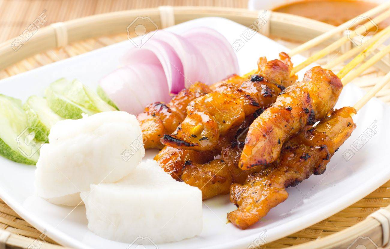 Delicious Asian Cuisine Chicken Satay - 11804817