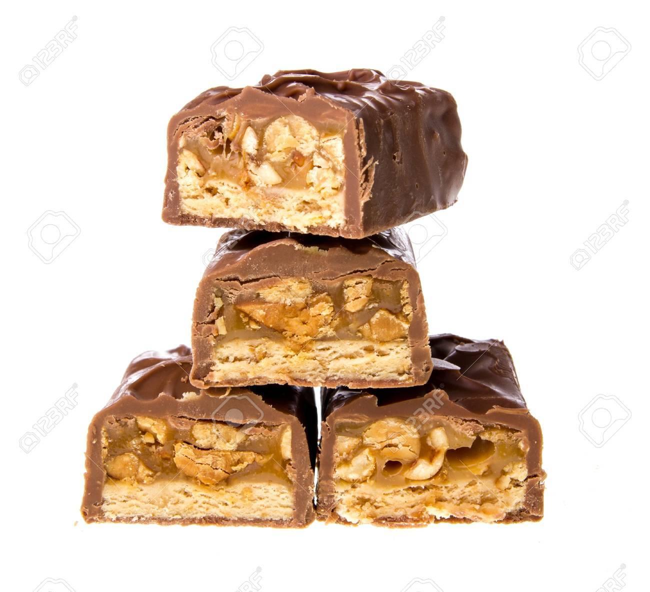 chocolate bar with caramel - 21572958