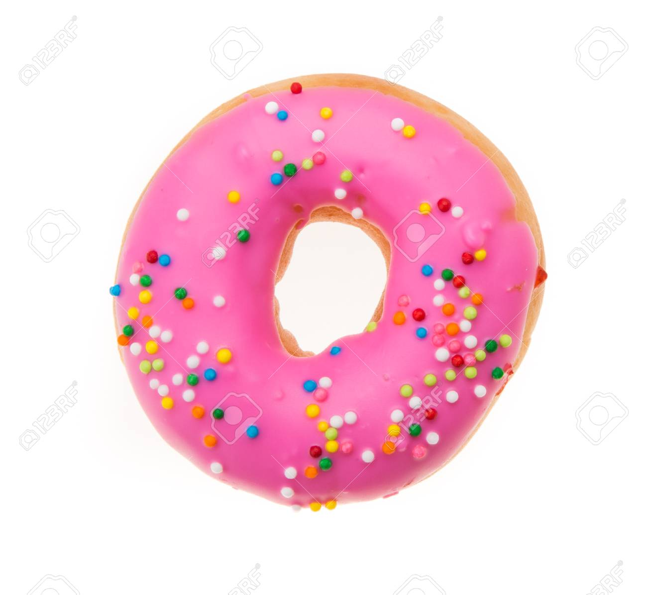 Doughnuts isolated on white background - 34366059