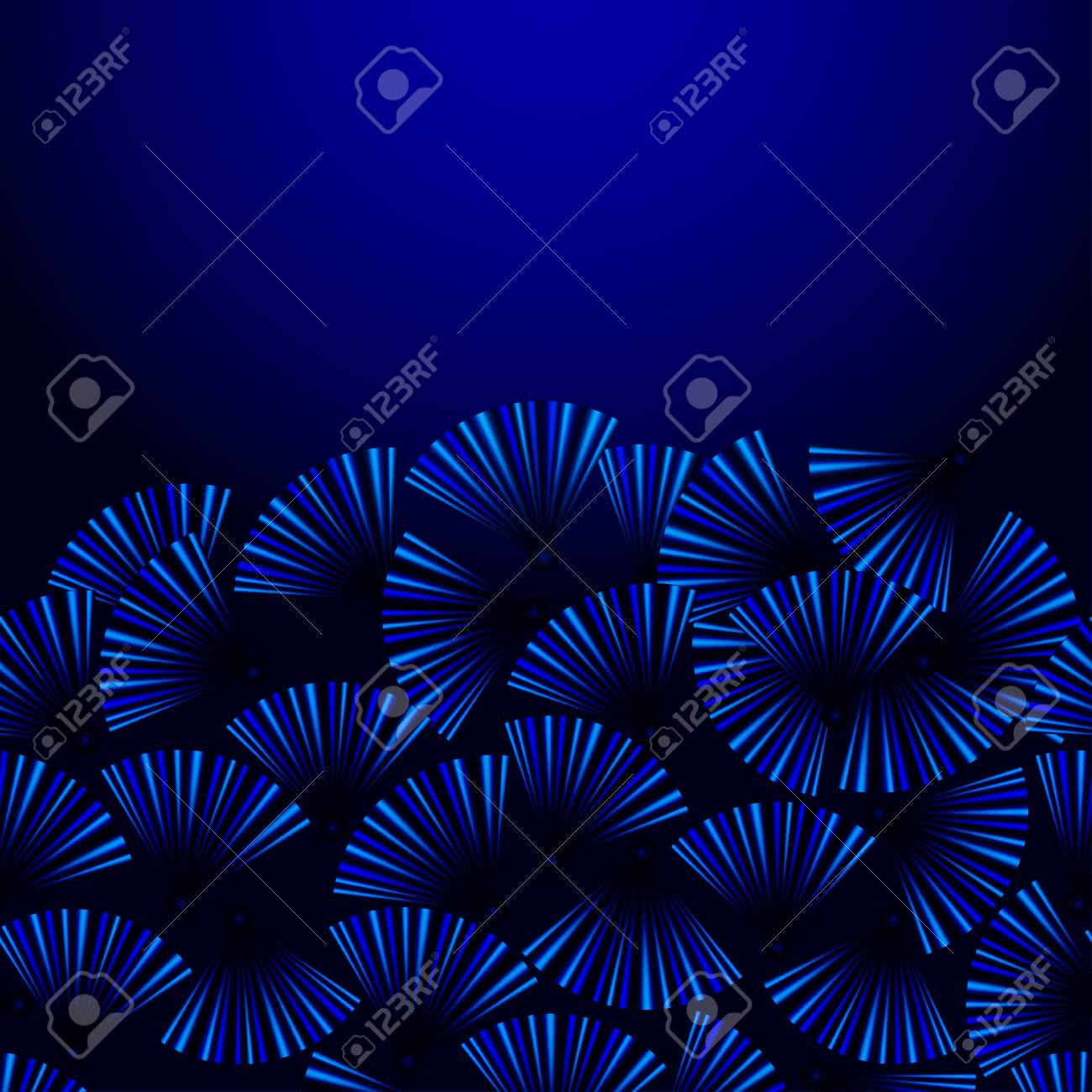 blue underwater background for business Stock Vector - 18658460