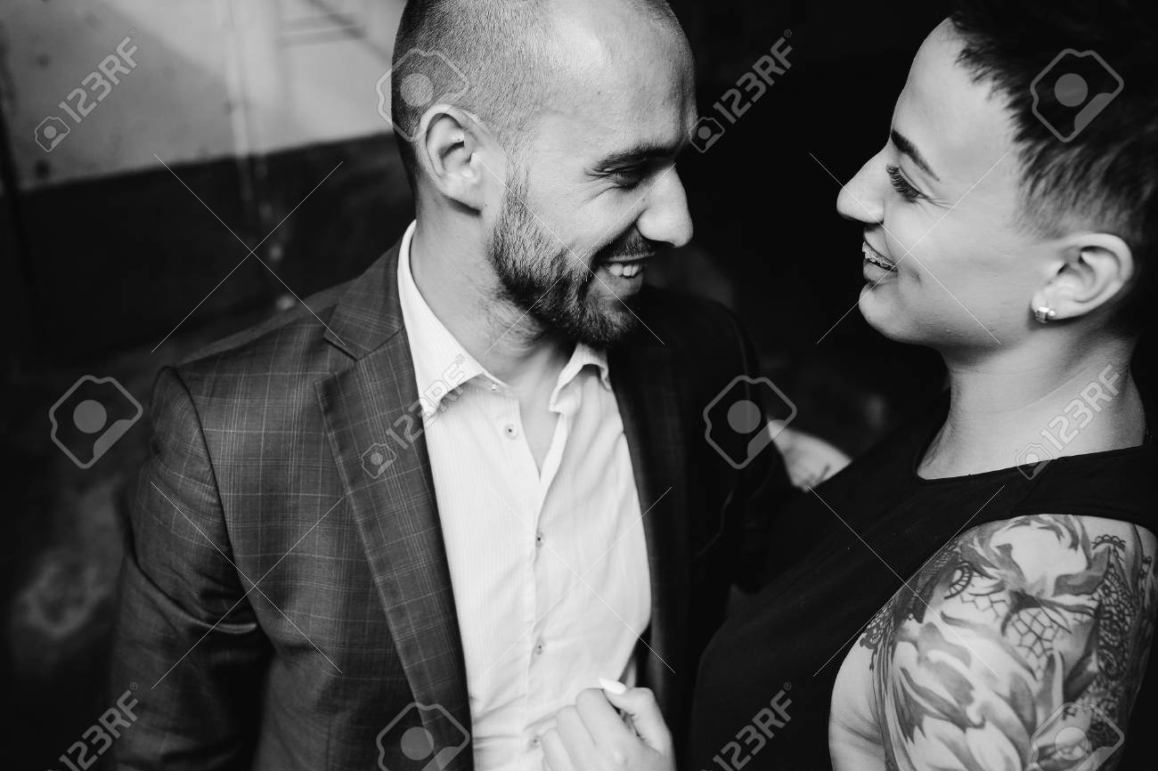 Man And Woman Hugging In The Doorway Of An Abandoned Building Stock Photo Picture And Royalty Free Image Image 63186445