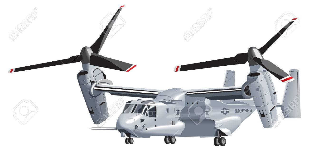 V-22 Osprey Royalty Free Cliparts, Vectors, And Stock Illustration