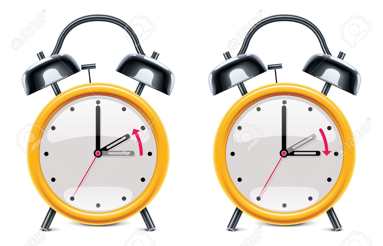Daylight Saving Time Illustration Royalty Free Cliparts, Vectors ...