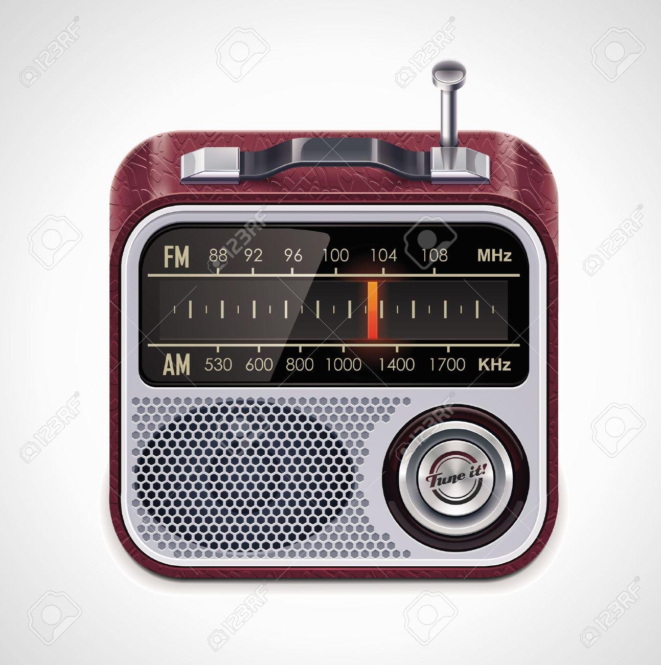 Vector radio XXL icon Stock Vector - 9764838