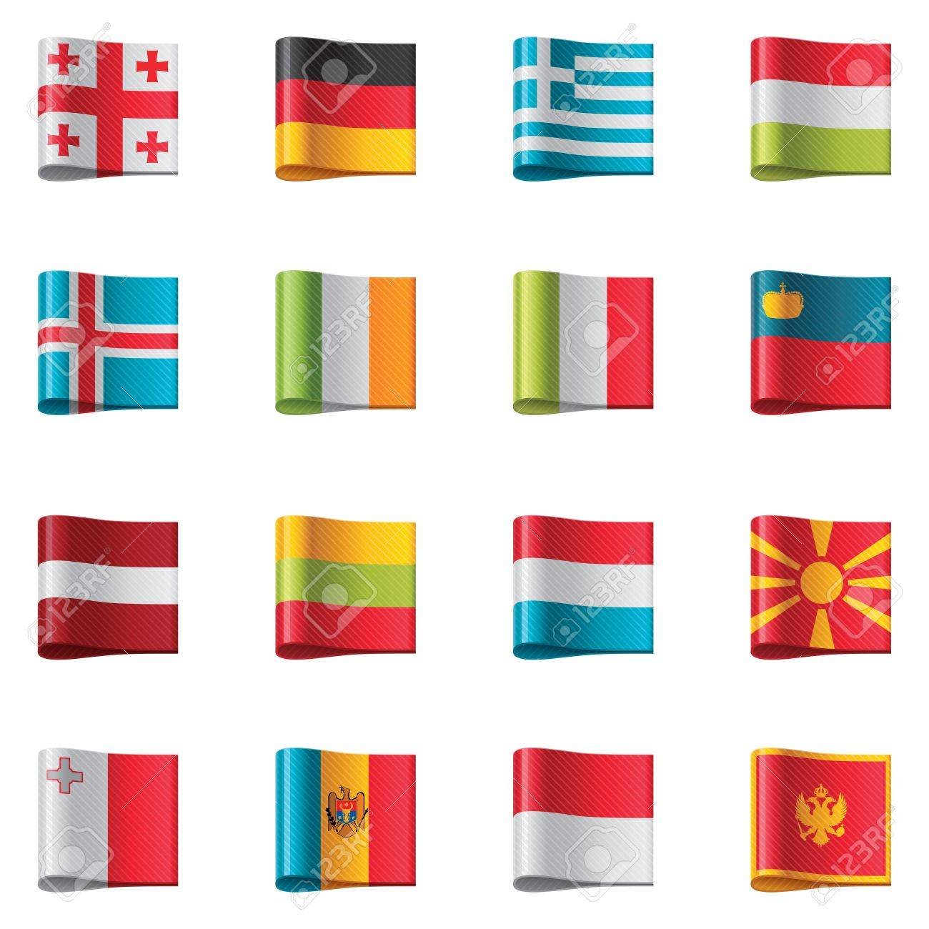 Flags. Europe - 11153482