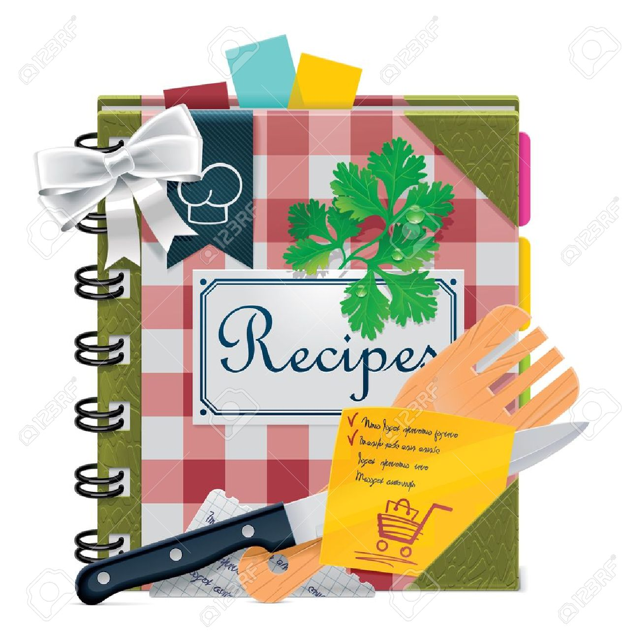 2,035 Cookbook Stock Illustrations, Cliparts And Royalty Free ...