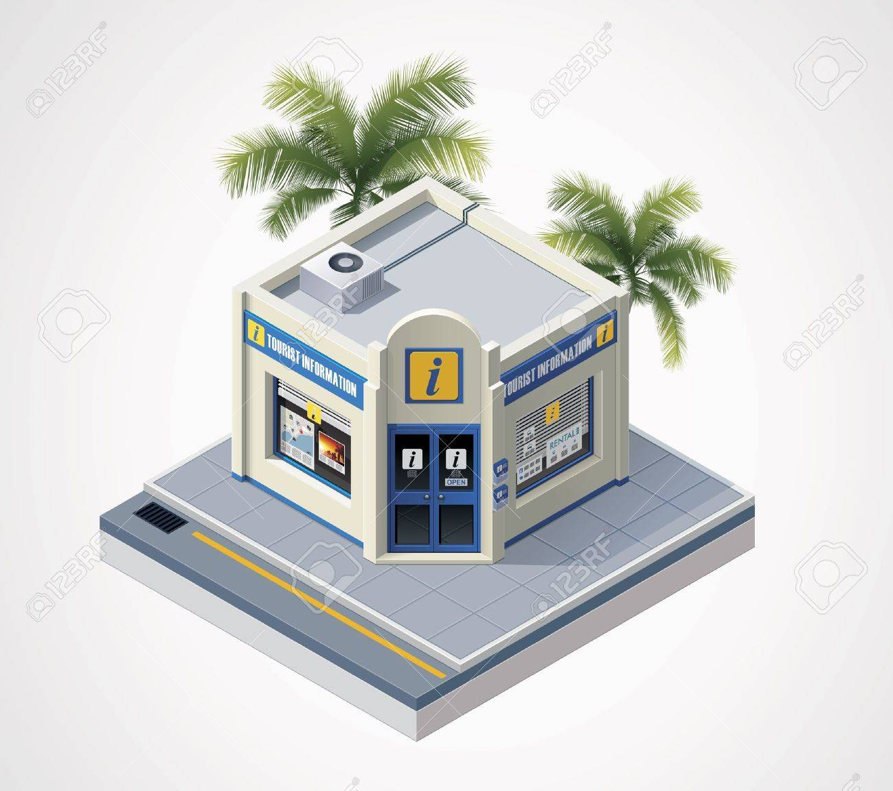 Tourist Office Clipart