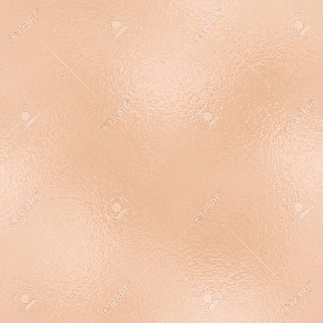 Metallic Golden Foil Texture Rose Gold Foil Square Vector
