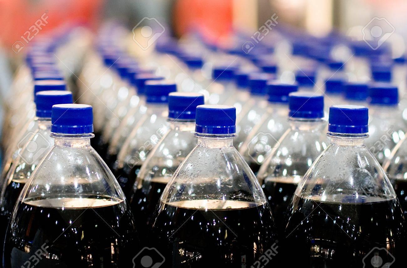 Plastic bottles in shop Stock Photo - 9251026