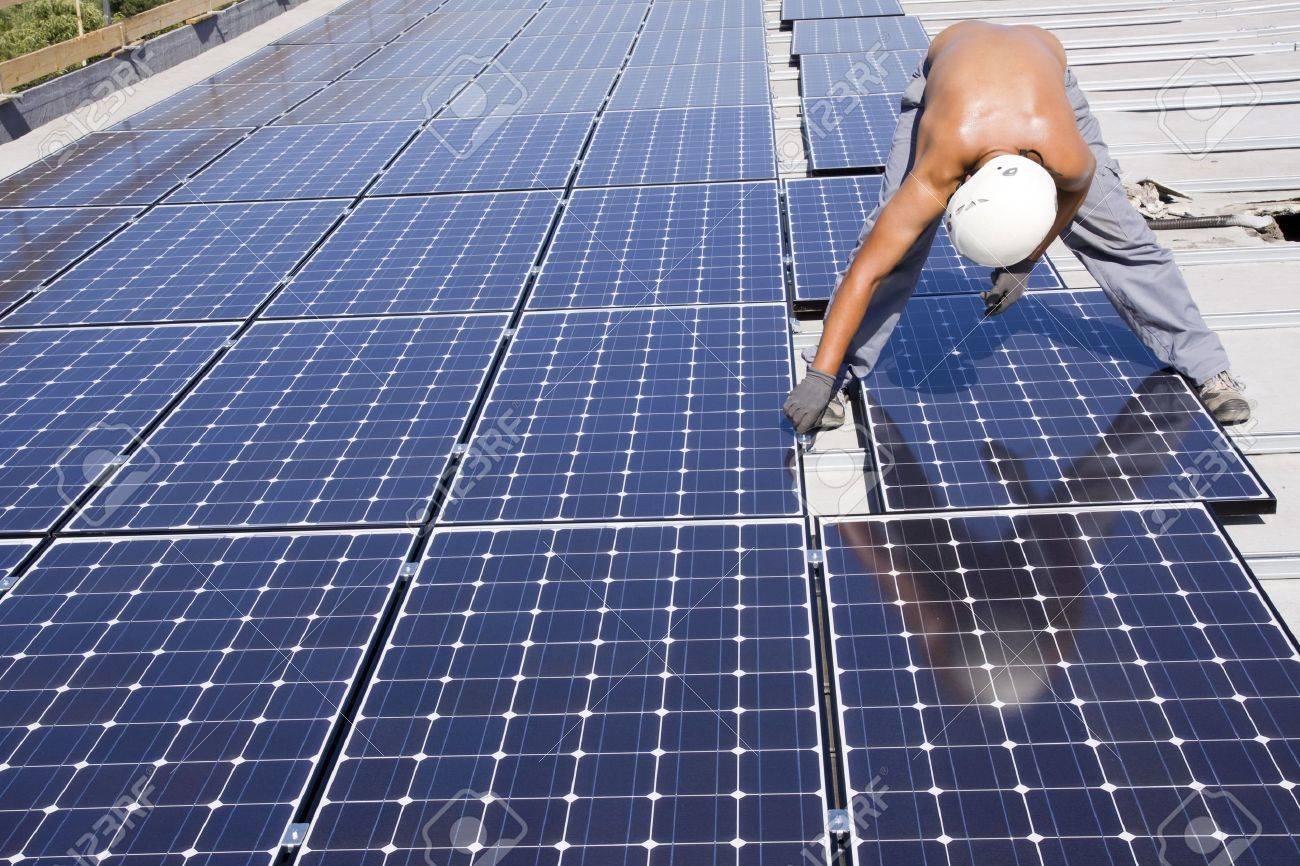 panneaux photovoltaïques Banque d'images - 7827758