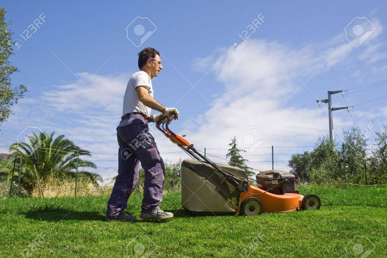 mower Stock Photo - 7935813