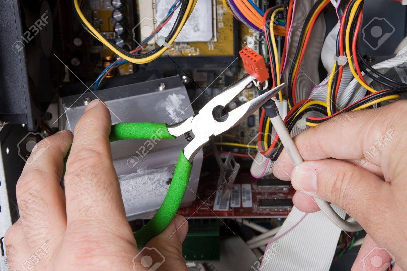 électricien Banque d'images - 7935846